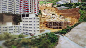 Landslide. stock video footage