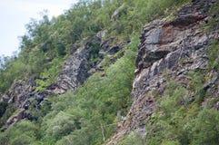 Landslide risk Royalty Free Stock Image