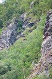 Landslide risk Stock Photography