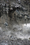 Landslide and rock fall Stock Photography