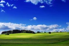 landsliggande Royaltyfri Fotografi