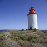 Landsort lighthouse Royalty Free Stock Photography
