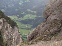 Landspace à Salzbourg Autriche Photographie stock libre de droits