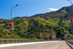 Landspace de La de Muon, Son La, Viet Nam Images stock