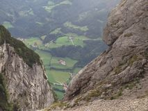 Landspace em salzburg Áustria Fotografia de Stock Royalty Free