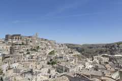 Landspcape de Matera Imagem de Stock Royalty Free