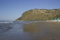 Landspitze von Terracina Italien Stockbild