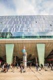 Landstaße Wien Mitte - station de métro et centre commercial images libres de droits