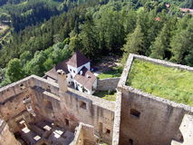 Landstejn Castle, Bohemia Royalty Free Stock Photos