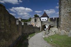 Landstejn castle in Czech Republic Royalty Free Stock Image