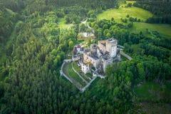 Landstejn Castle in south bohemia in Czech Republic stock images