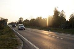 Landstraße Stockfotos