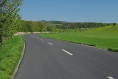 Landstraße stockbild