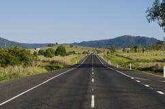 Landstraße in Australien Stockbilder