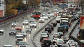Landstraße, Autobahn, Autoverkehr stock video footage