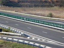 Landstraße - Detail stockbild