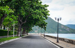 Landstraße im Betrüger Dao Island stockfoto