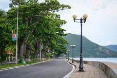 Landstraße im Betrüger Dao Island stockbilder