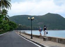 Landstraße im Betrüger Dao Island stockfotografie