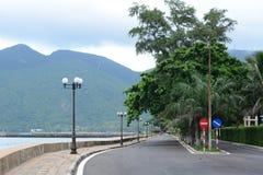 Landstraße im Betrüger Dao Island lizenzfreies stockbild