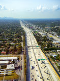 Landstraße in Miami Lizenzfreie Stockbilder