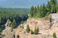 Landstraße 200 Montana lizenzfreie stockbilder