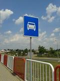 Landstraße Sig Lizenzfreie Stockbilder