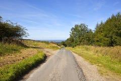 Landstraße und Tal von York Lizenzfreie Stockfotografie