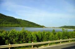 Landstraße 1 Vietnam stockbilder