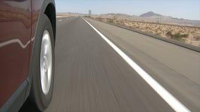 Landstraßen-Antrieb stock video