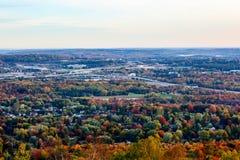 Landstraßen im Herbst Lizenzfreie Stockbilder