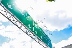 Landstraßen-Zeichen Lizenzfreies Stockfoto