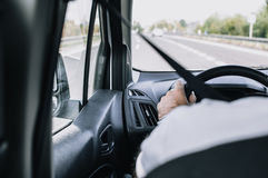Landstraßenfahren Stockfotos