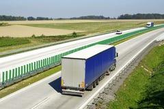 Landstraßenverkehr lizenzfreie stockfotos