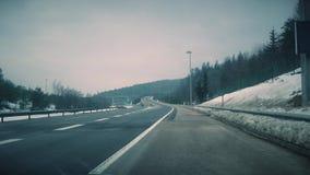 Landstraßenverkehr 4K Video