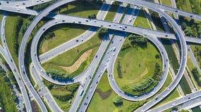 Landstraßenzhengzhou-Porzellan lizenzfreies stockfoto