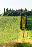 landstuscany villa Royaltyfria Foton