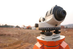 Landsurveyor Royalty Free Stock Photos