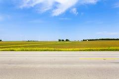 Landsväg Royaltyfri Bild