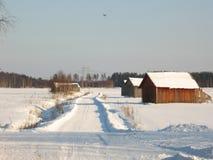 landsväg royaltyfri foto