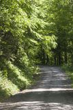 landsväg Arkivfoto