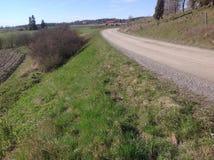 Landsväg april Royaltyfria Foton