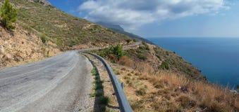 Landsväg i Turkiet Royaltyfri Bild