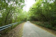 Landsväg på denChang ön Arkivbilder