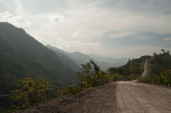 landsväg thailand Royaltyfri Bild