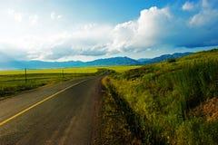 Landsvägar Royaltyfria Foton