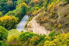Landsvägen fotografering för bildbyråer