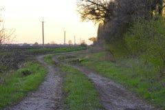 Landsvägen Arkivbilder