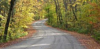 landsvägspolning Arkivfoto
