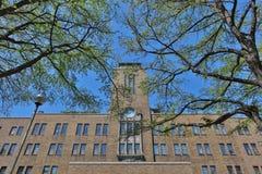 landsvape på det Hokkaido universitetet i Japan Arkivbilder